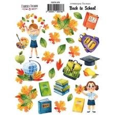 "Kit of stickers #078, ""Back to School 2"""