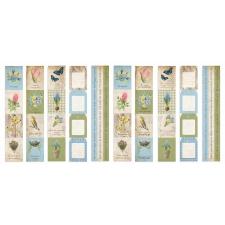 """Набор полос с картинками для декорирования """"Botany Spring"""""""
