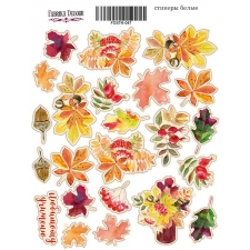 "Набор наклеек (стикеров) #047 ""Botany Autumn 1"""