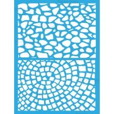Трафарет - 168. «Каменная брусчатка»