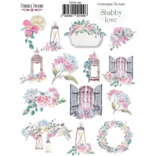 "Kit of stickers #100, ""Shabby Love"""