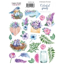 "Kit of stickers #106, ""Colorful Spring"""