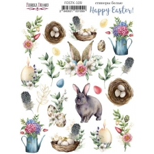 "Kit of stickers #109, ""Happy Easter"""