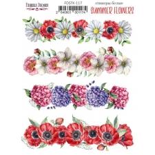 """Kleepsud #117, """"Summer Flowers"""""""