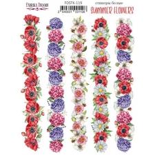 """Kleepsud #119, """"Summer Flowers"""""""