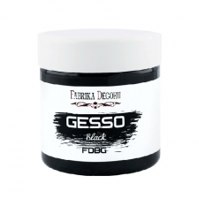"Black acrylic paste ""Gesso Black"" 150ml"
