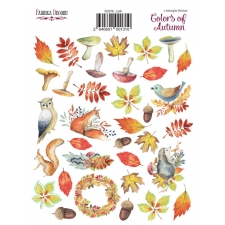 "Kit of stickers #134, ""Colors of Autumn"""