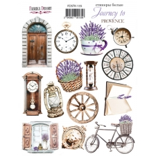 "Kit of stickers #135, ""Lavender Provence"""