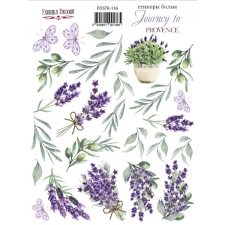 "Kit of stickers #136, ""Lavender Provence"""
