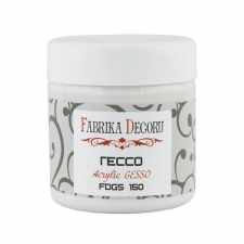 "White acrylic paste ""Gesso"" 150ml"