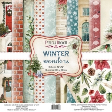"Набор скрапбумаги ""Winter Wonders"", 30,5х30,5 см"