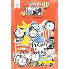"Set of die cuts ""European Holidays"", 67 pcs"