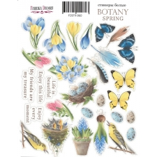 "Kit of stickers #060, ""Botany spring"""