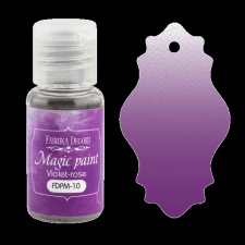 "Dry paint ""Magic paint"" color ""Violet-Pink"", 15ml"