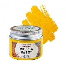 Rustic paint. Color Sunny