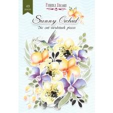 """Väljalõiked """"Sunny orchid"""", 49 tk"""