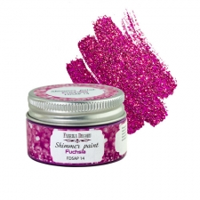 Shimmer paint. Color Fuchsia