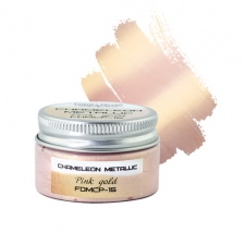 Metallic chameleon paint. Color Pink gold