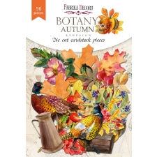 "Set of die cuts ""Botany Autumn Redesign"", 56pcs"