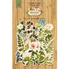 "Set of die cuts ""Botany Summer"", 59pcs"