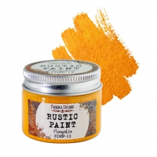 Rustic paint. Color Pumpkin