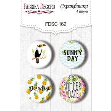 Flair buttons. Set of 4pcs #162