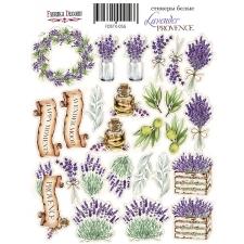 "Набор наклеек (стикеров) #056, ""Lavender Provence"""