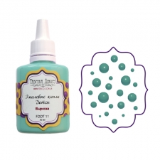 Liquid enamel dots Fabrika decoru, color Turqouise