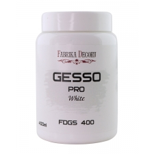 "White acrylic paste ""Gesso"" 400ml"