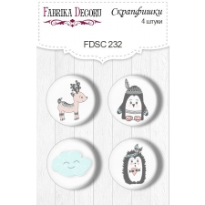 Flair buttons. Set of 4pcs #232