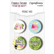 Flair buttons. Set of 4pcs #163