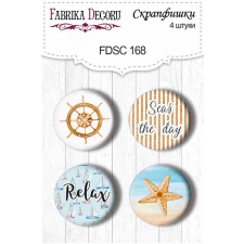 Flair buttons. Set of 4pcs #168