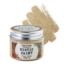 Rustic paint. Color Gray beige