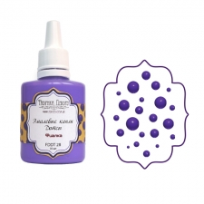 Liquid enamel dots Fabrika decoru, color  Violet