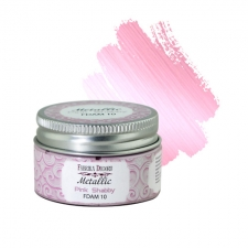 Metallic paint Pink Shabby 30 ml