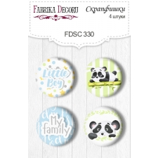 Flair buttons.  Set of 4pcs #330