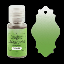 "Dry paint ""Magic paint"" color ""Pale green"", 15ml"
