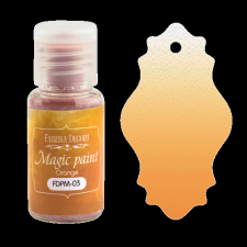 "Dry paint ""Magic paint"" color ""Orange"", 15ml"