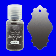 "Dry paint ""Magic paint"" color ""Neutral black"", 15ml"