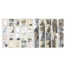 "Set of stripes with pictures for decoration ""Shabby Memory"""