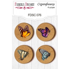 Flair buttons. Set of 4pcs #076