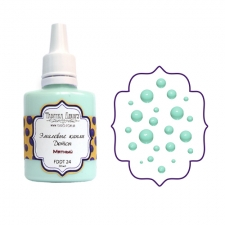 Liquid enamel dots Fabrika decoru, color Mint