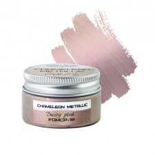 Metallic chameleon paint. Color Dusty pink