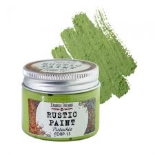 Rustic paint. Color Pistachio