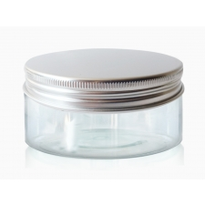 Transparent pot with a tin lid 150ml