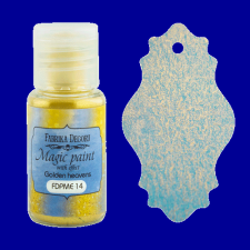 "Dry paint ""Magic paint with effect"" color ""Golden heavens"", 15ml"