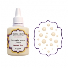 Liquid enamel dots Fabrika decoru, color Delicate Beige