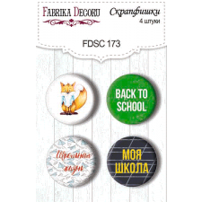 Flair buttons. Set of 4pcs #173