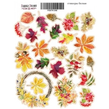 "Набор наклеек (стикеров) #046 ""Botany Autumn"""