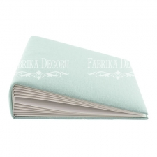 "Blank album with a soft fabric cover ""Mint"""